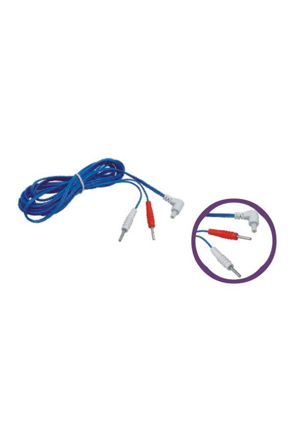 SDZ II 型電子針灸機皮外電療用接線